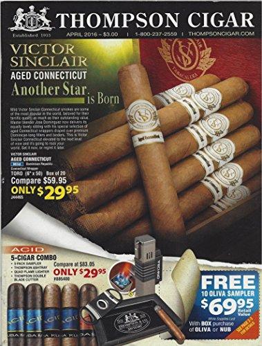 Thompson cigar, April 2016, catalog
