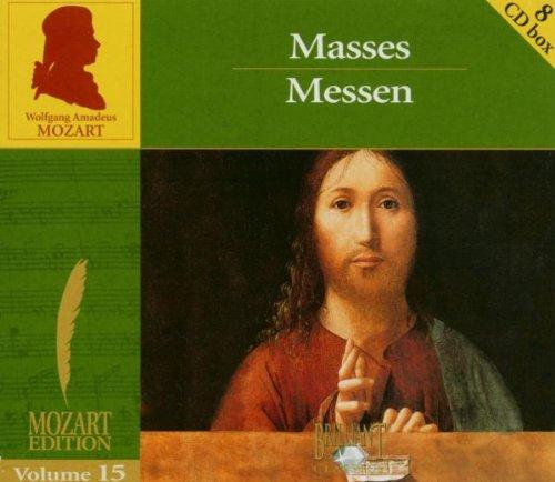 Mozart Edition, Vol.15: Masses / Messen