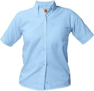 A+ Girls & Adults Short Sleeve School Uniform Oxford Blouse
