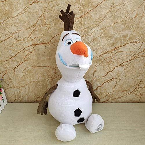 Juguetes blandos 30 cm Muñeco de nieve Olaf Peluche juguetes rellenos de peluche Kawaii Animales de peluche suave para niños DSB