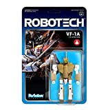 SUPER7 Unisex-Youth ROBOW01-VFA-01 Super 7 Reaction Figure-Robotech VF-1A, Multi, 9,5 cm