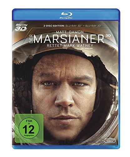 Der Marsianer - Rettet Mark Watney [3D Blu-ray]