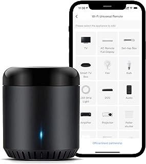 Broadlink Smart Home Hub, RM Mini3 Telecomando universale WiFi intelligente IR (a infrarossi), telecomando a infrarossi un...
