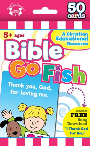 Bible Go Fish Christian 50-Count Game Cards (I'm Learning the Bible Flash Cards)