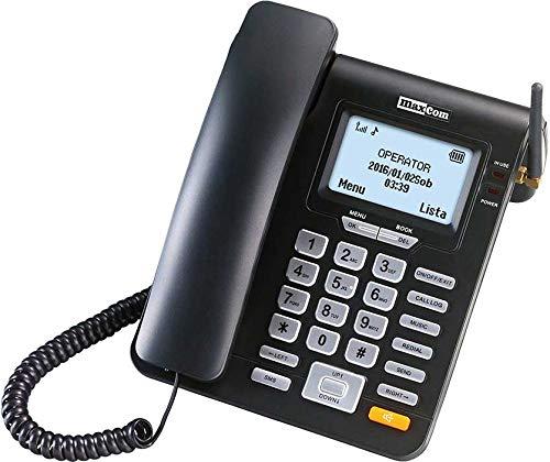 Maxcom MM 28 D HS- Teléfono Fijo GSM Escritorio