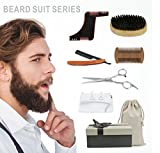 Idefair (TM) Bartpflegeset Bart Trimmen Kit Geschenk 6 Teilig Für Männer Bartpflege,...