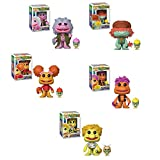 Funko Pop Television Fraggle Rock Boober, Gobo, Mokey, Red and Wembley Vinyl Figures Set