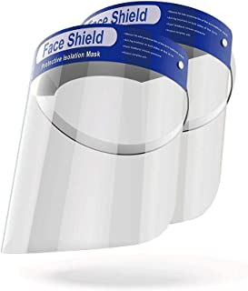 OMK 2 Pcs Reusable Face Shields