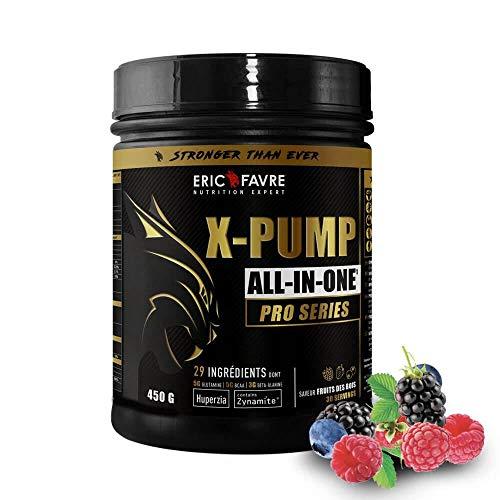 x-PUMP Pro Series – Fruits des Bois | 29 Ingrédients Actifs - ALL IN 1 | Construction Musculaire Multi-Actions, Résistance, Coup de fouet | 30 doses /740 gr | Eric Favre Laboratoire Français…