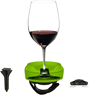 lawn wine glass holder