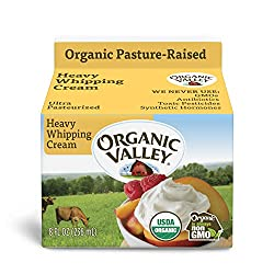Organic Valley Heavy Whipping Cream, 8 Ounce