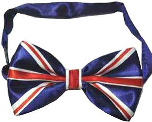 Elegance1234 Union Jack le nœud papillon Hommes