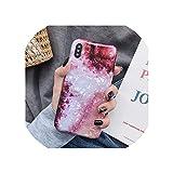 レトロ花リングスタンド電話ケースiphone 11プロマックスXR XSマックスXS 7 8 6プラスソフトドリームシェル電話バックカバーバッグ,For iPhone 7 Or 8,k(No Ring)