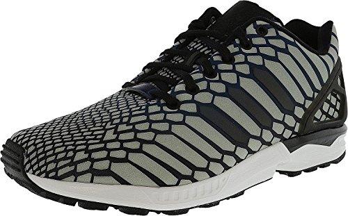 adidas Zapatillas de moda Zx Flux para hombre, color azul marino, 10.5 US