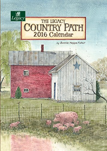 Legacy Publishing Group 2016 Pocket Calendar, Country Path (PCL21198)
