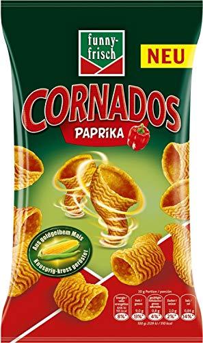 funny-frisch  Cornados Paprika, 14er Pack (14 x 80 g)