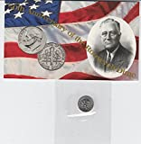 1996 W Roosevelt Dime 50th Anniversary of the Roosevelt Dime-SEALED IN U.S. MINT CELLO - MUST HAVE to complete any dime set Dime MS-67 US Mint