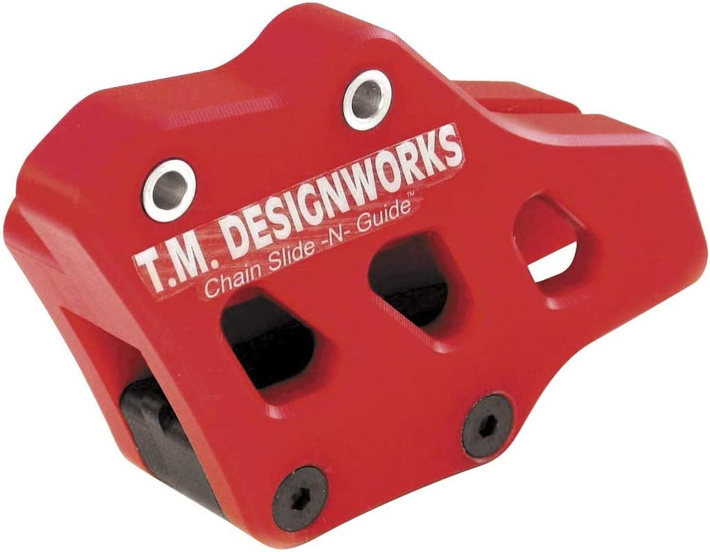 TM Designworks Max 66% OFF Factory 1 Sale special price Chain 04-10 Guide Red Husqvarna for
