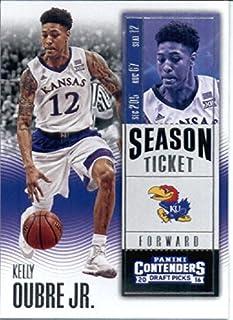 2016-17 Panini Contenders Draft Picks #55 Kelly Oubre Jr. Kansas Jayhawks Basketball Card-MINT