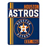 Northwest MLB Houston Astros Micro Raschel Throw, One Size, Multicolor