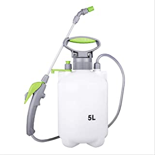 Pump Pressure Sprayer Watering Can with Pressure Relief Valve with Adjustable Shoulder Strap