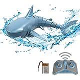 GoolRC Mini RC Tiburón Juguete de Control Remoto Nadar Juguete Bajo el Agua RC Barco Piscina de Juguete de Parodia de Barco de Carreras Eléctricas