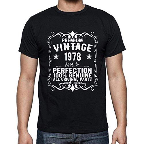 Premium Vintage Year 1978 Cumpleaños de 42 años, Regalo cumpleaños Hombre, Camisetas Hombre cumpleaños, Vendimia Prima Camiseta Hombre, Camiseta Regalo, Regalo Hombre