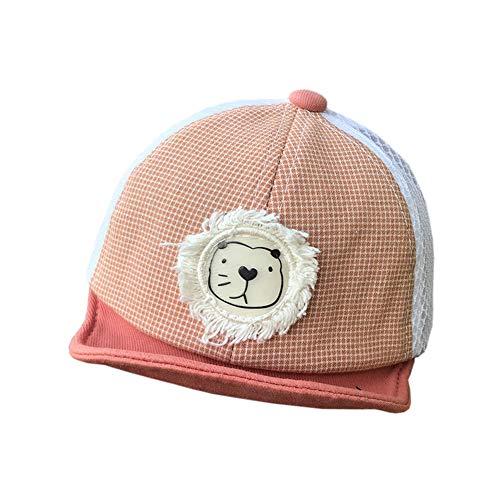 Gorra de béisbol para bebé recién nacido, de algodón, con visera suave, protección solar, para primavera, verano, viajes, anti UV, sombrero de sol, gorra ajustable para bebés de 3 a 12 meses