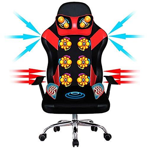 KAYBELE Office Small Electric Multifunction 3D Massage Chair Household Elderly Kneading Cervical Vertebra Whole Body Neck Waist Back Massager