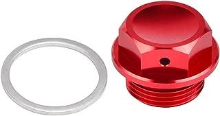 D-Modernlife-M22 X 1.5 Oil Engine Drain Plug Bolt For Ktm Duke Adventure Lc4 640 For Ducati Monster 620 696 Multistrada Sport 1000 St2 (Red)