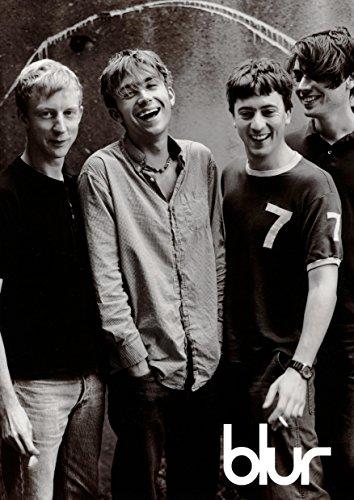 Blur #8 – 90er Indi-Band – Damon Albarn – Musikband – Musiklegenden – A3 Poster – Druck – Bild