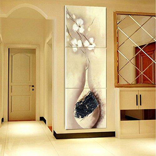 Zita and Zetan 50 * 50 * 2.5cm, 3 Pezzi/Set Il Corridoio Soggiorno Pittura Decorativa Moderna Pianta Veranda Moderna Ingresso Veranda Verticale Versione d'Arte