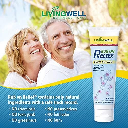 Rub on Relief Ingredients