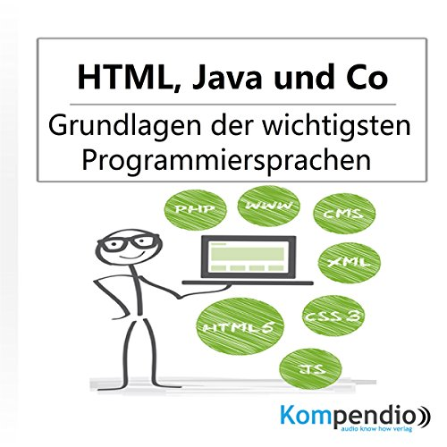 HTML, Java und Co. audiobook cover art