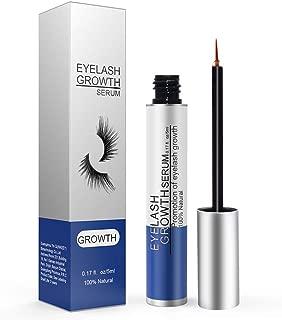 Eyelash Growth Serum, Eyelash Enhancer Lash Booster Eyebrow Growth Serum for Long, Luscious Lashes and Eyebrows-Irritation Free Formula(5ml) Blue