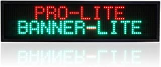 Banner-Lite Ultra Bright LED Illuminated Programmable Window Advertising & Promotional Business Display Sign, 10.75