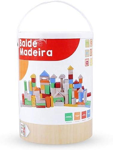 la red entera más baja AOLVO AOLVO AOLVO - Bloques de Madera para Juguetes, apilañor geométrico con Colors Brillantes y Varias Formas apilables, Juguete Educativo para Niños y niñas  calidad auténtica