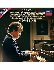 J.S.バッハ:2声・3声のインヴェンション、4つのデュエット、他 (SHM-CD)