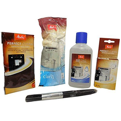 Melitta Perfect Clean Pflegeset 4000247/204946 - ANTI CALC - PERFECT CLEAN - PRO AQUA