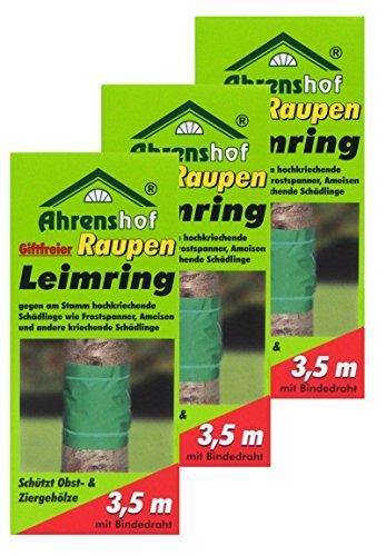 Preisjubel 6 x Raupen-Leimring giftfrei, Baumschutzring, Gartenleimring, Insektenabwehr