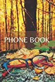 phonebook: phb-103-en-69 - telephone book with alphabet index (names and numbers : phone/mobile)