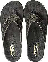 Skechers Men's PELEM-Wesker Sandal, Gry, 11 Medium US