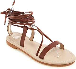 BalaMasa Womens ASL06775 Pu Fashion Sandals