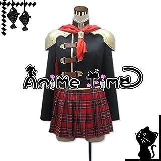 ●●サイズ選択可●●女性Sサイズ JKZ1386 コスプレ衣装 ファイナルファンタジーFF零式Type-0 クイーン Queen 女子制服 冬服