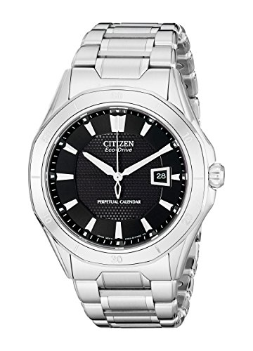 Citizen Men's Eco-Drive Signature Perpetual Calendar Watch with Date, BL1270-58E