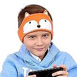 FIRIK Kids Headphones Volume Limited with Easy Adjustable Toddler Costume Silky Headband Headphones