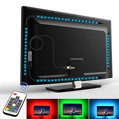 LED Light Strip RGB Tape SMD 5050 5V USB LED Strips for TV Backlight Lights 2m Music Control Background Lighting Flexible Neon