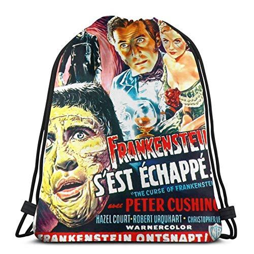 Frankenstein - Bolsa de viaje para regalo, diseño retro de película terrorista