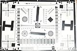 Testtafel für Auflösung und Repro 32x47cm -