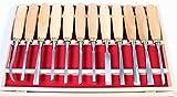 Set de 12 herramientas para tallar cuchillos para tallar madera